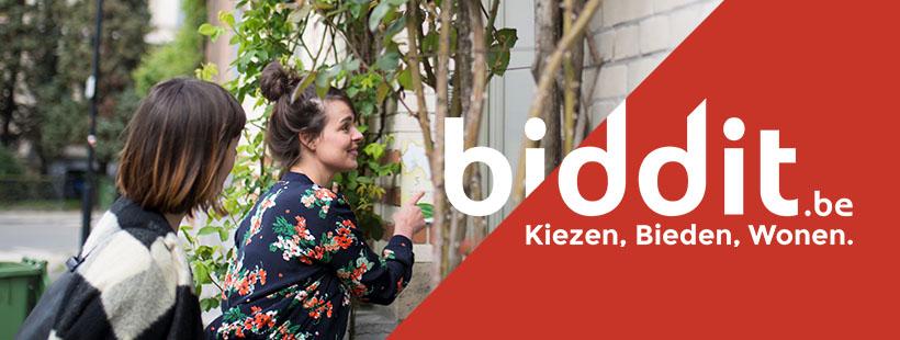 Een woning online kopen via Biddit.be