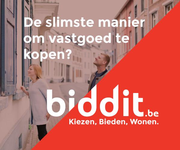 Al ruim 1.000 woningen aangeboden via Biddit, het online verkoopplatform van de Belgische notarissen