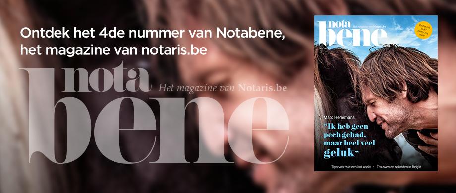Ontdek het nieuwe nummer van ons magazine NotaBene!